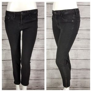 AG The Jegging Jeans Super Skinny Ankle Zippers 29